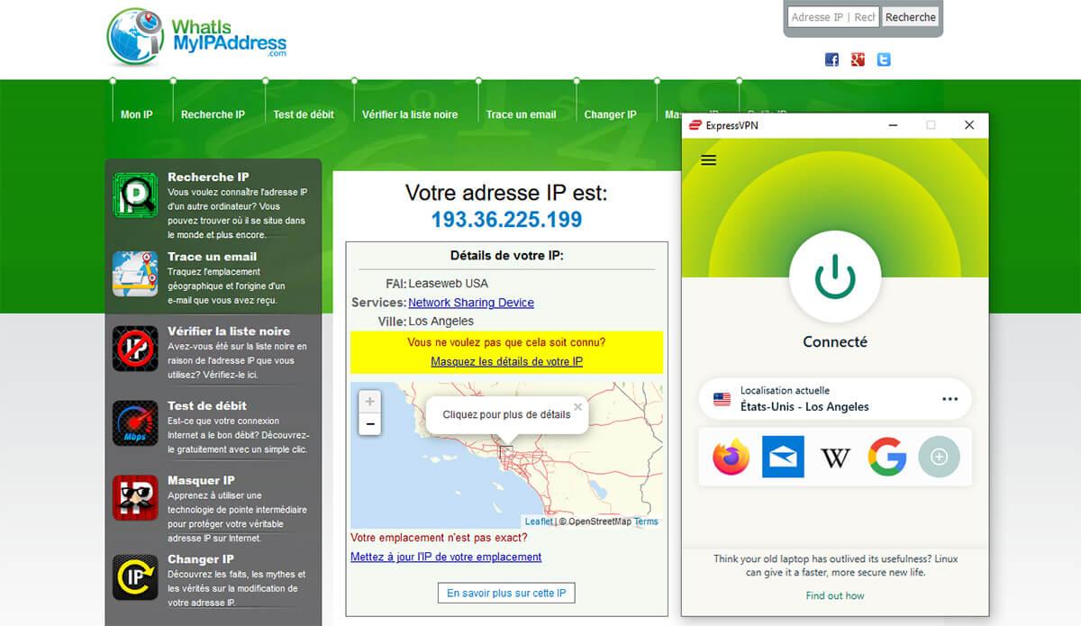 Obtenir IP suisse ExpressVPN
