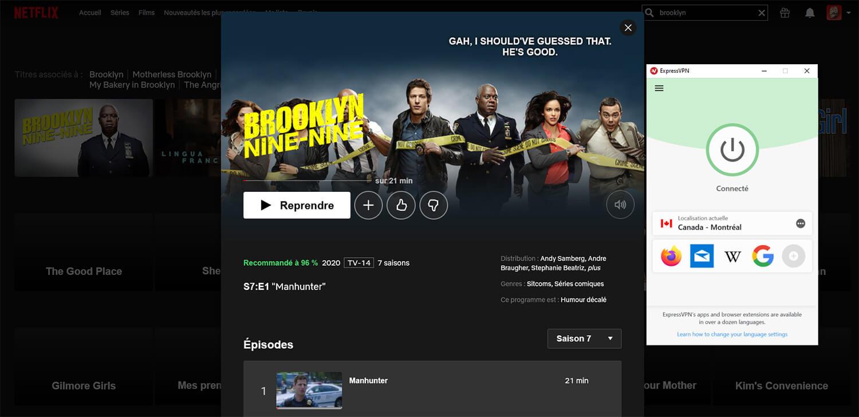 Saison 7 Brooklyn 99 Netflix Canada
