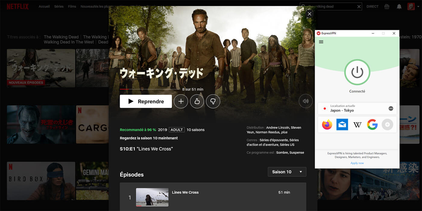 The Walking Dead Saison 10 Netflix Japon