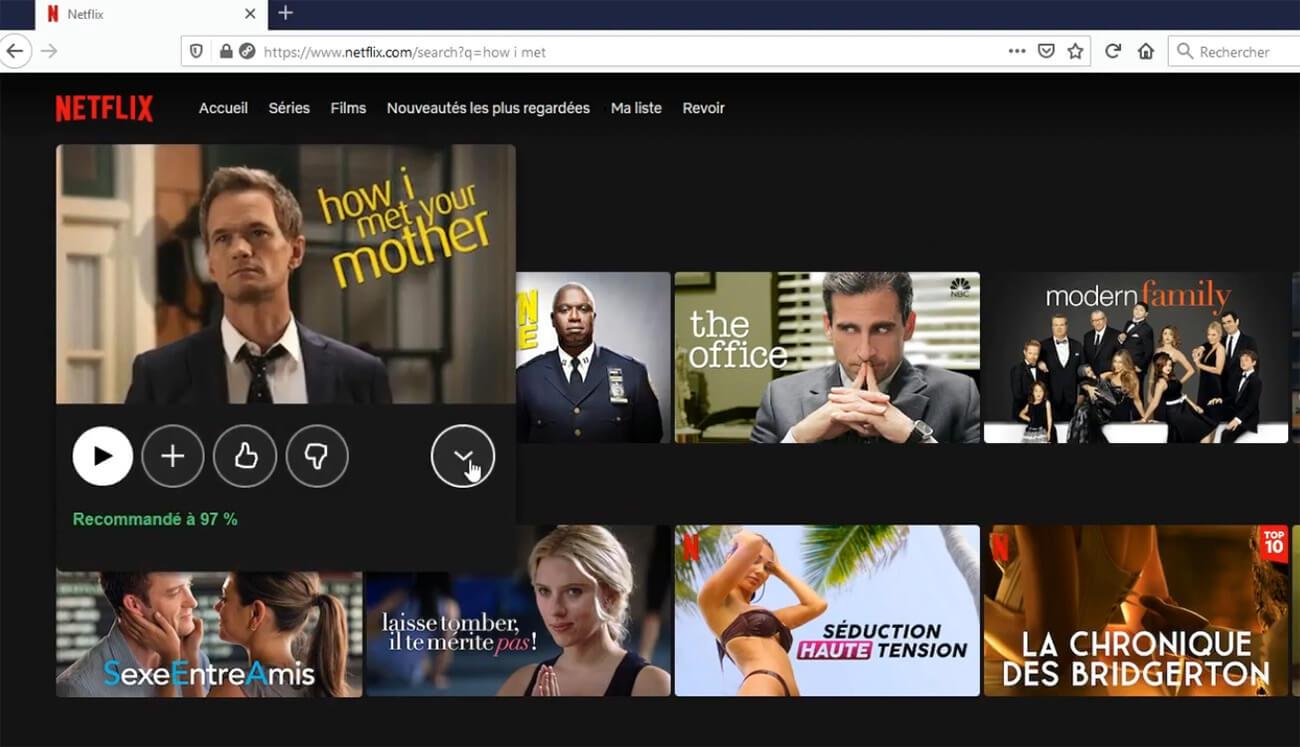 Accès How I Met Your Mother Netflix