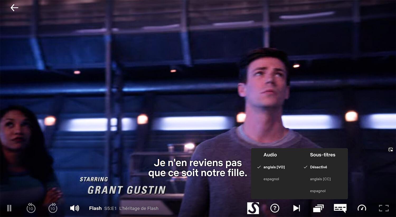 Sous titres FR Netflix