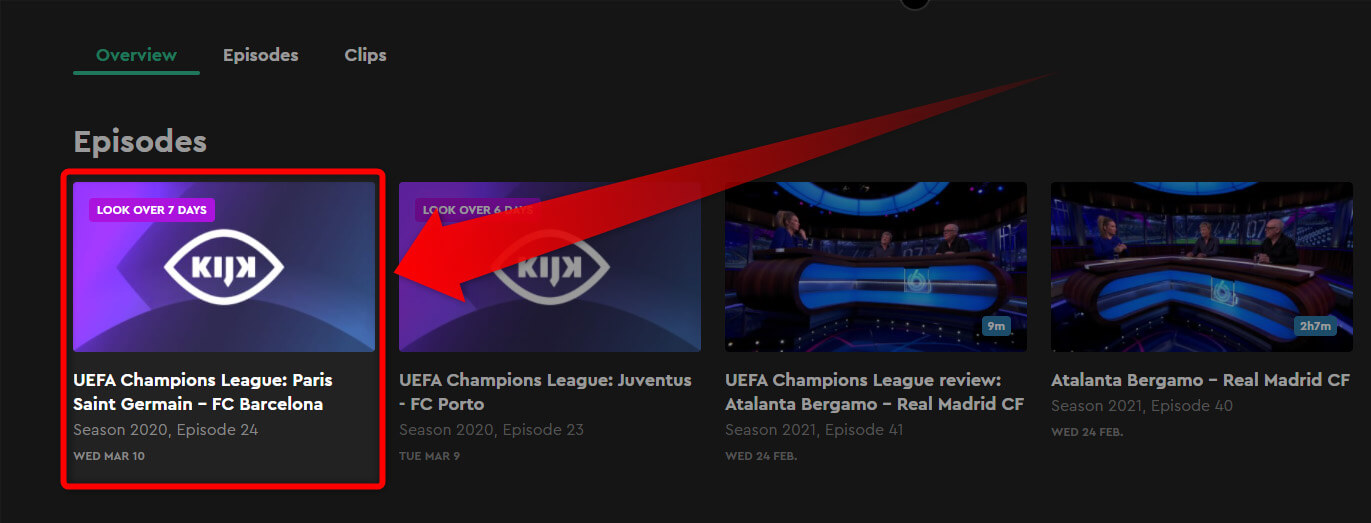 Programme TV Chaine Gratuite KIJK PSG Barcelone