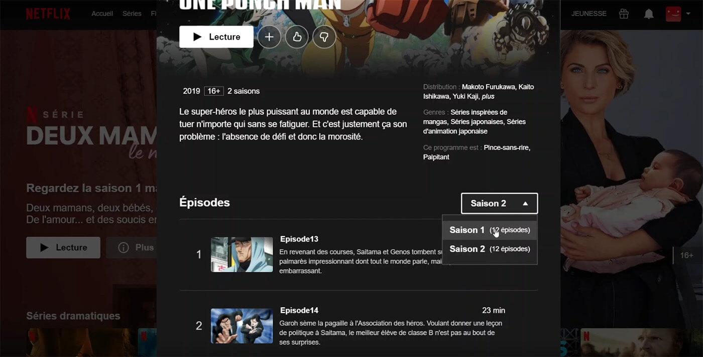 Saison 2 One Punch Man Netflix