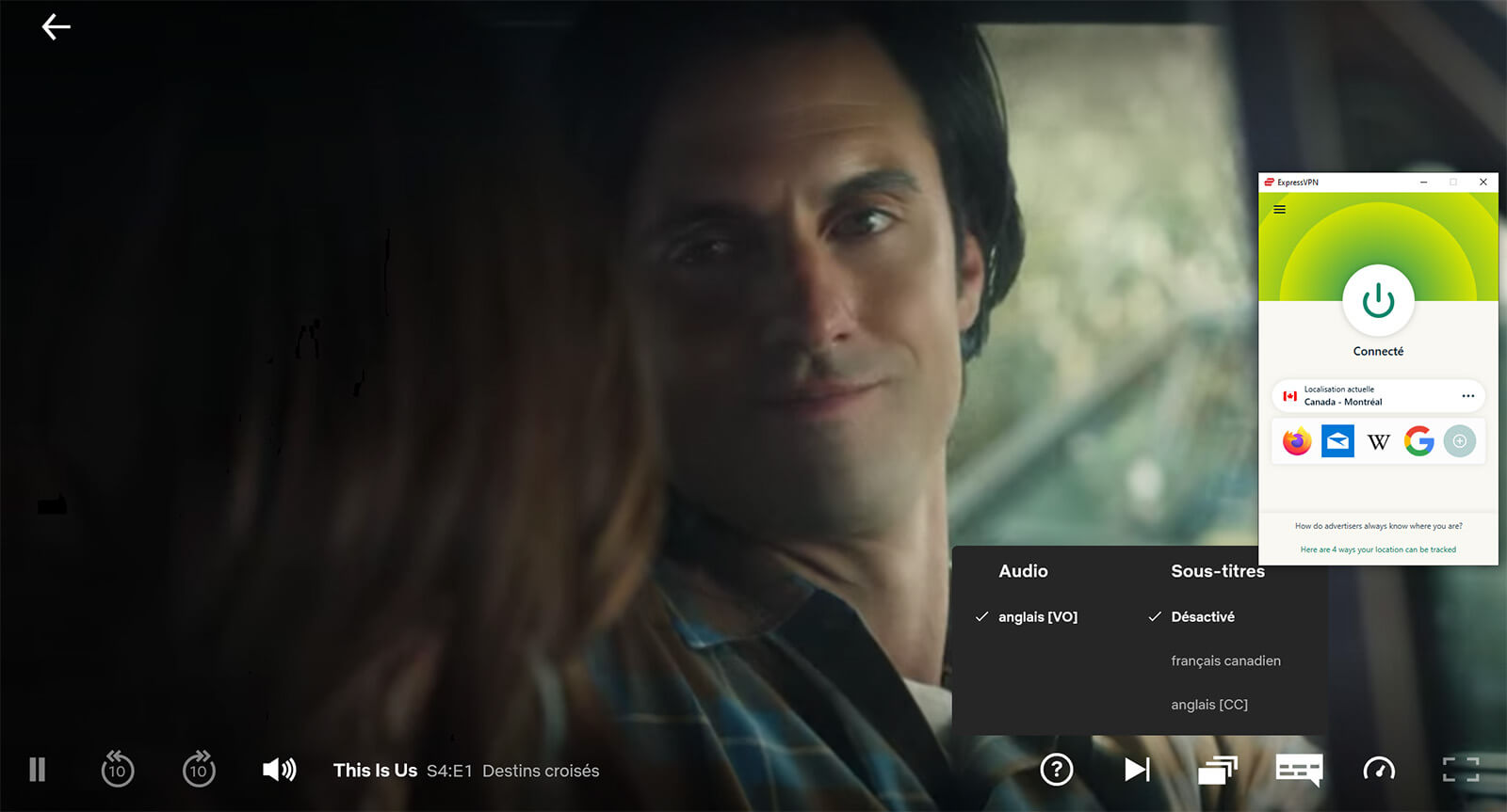 Visionnage This Is Us saison 4 Netflix ExpressVPN