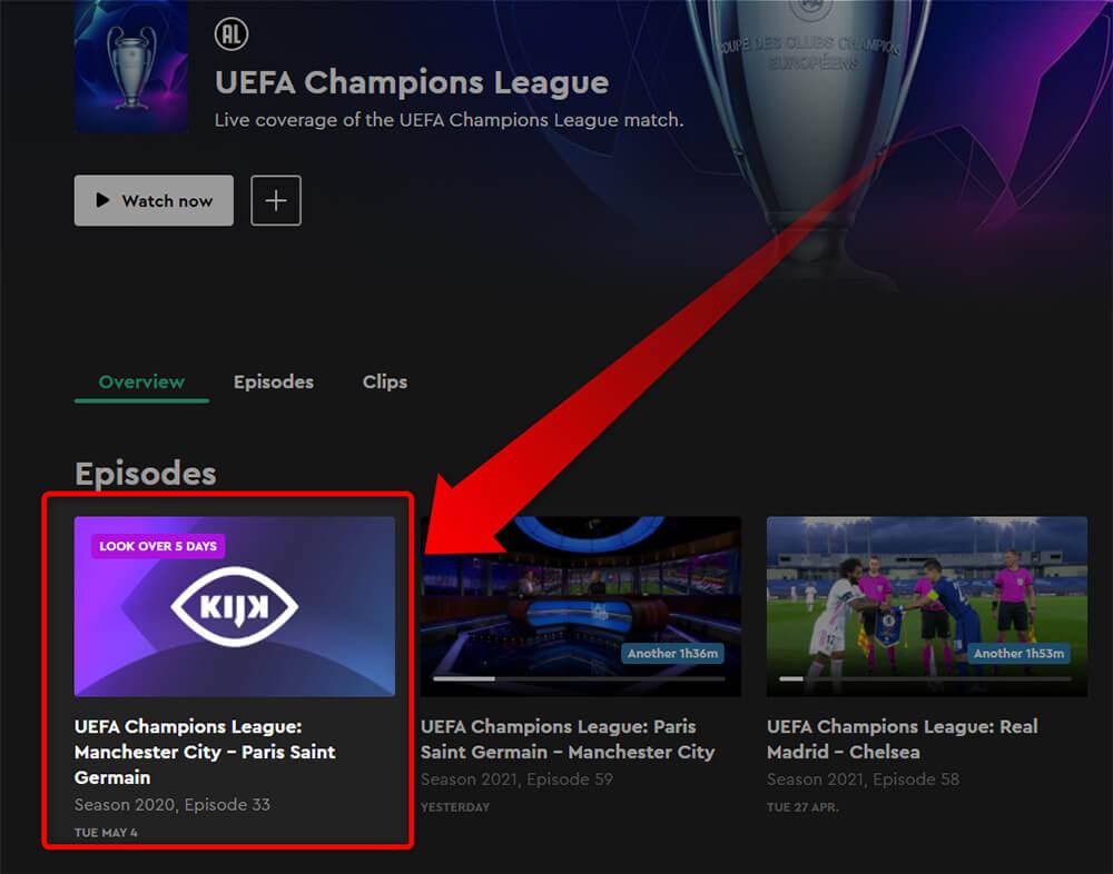 Programme TV Chaine Gratuite Ligue des Champions 4 Mai