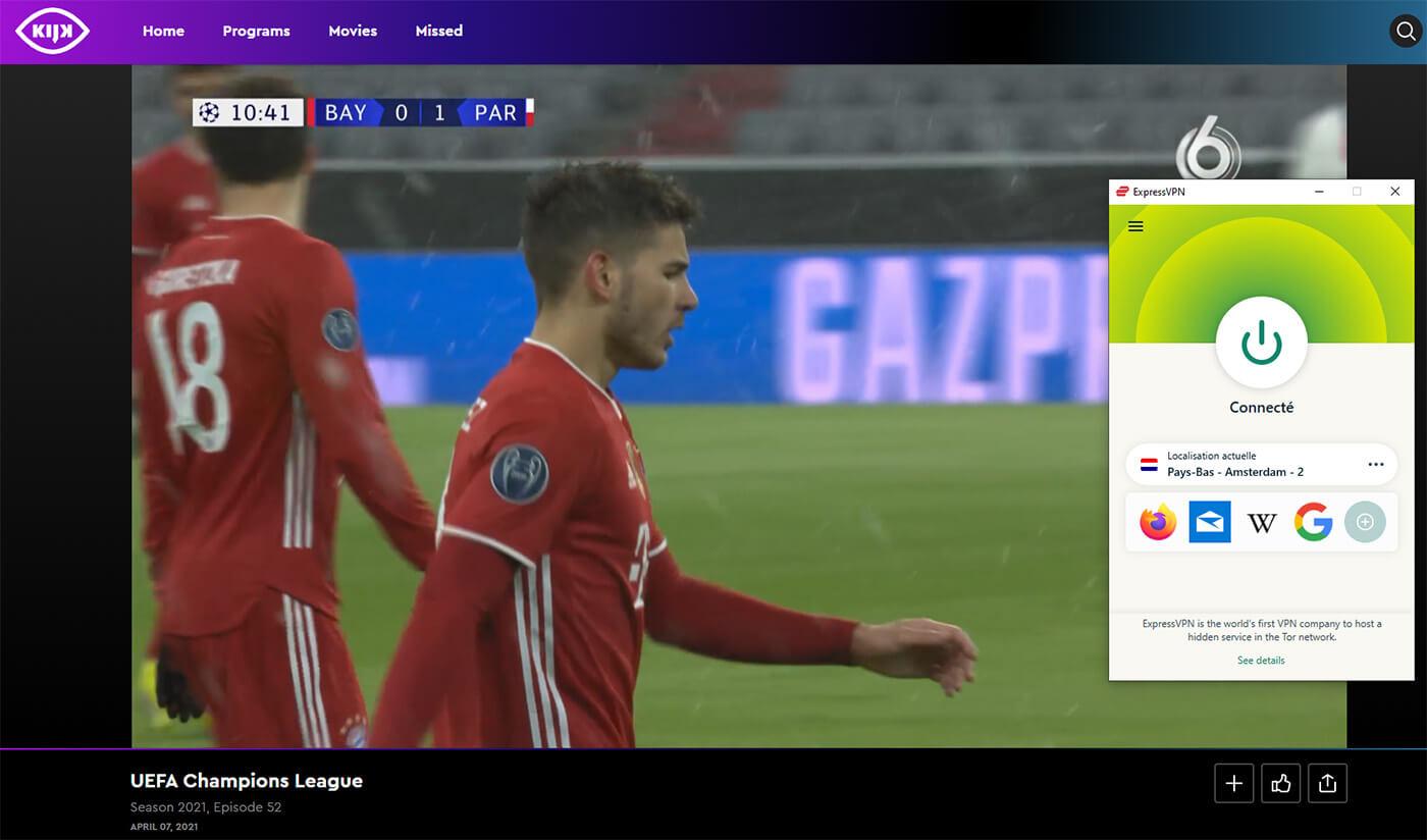 Regarder PSG Bayern Chaine Gratuite
