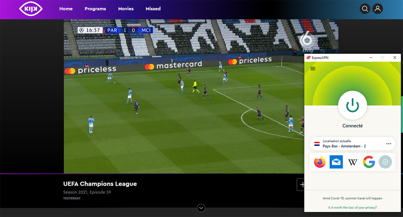 Streaming PSG Manchester City Direct Chaine Gratuite