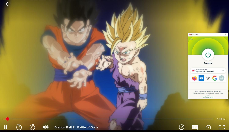 Regarder Dragon Ball Z Netflix en France